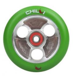 CHILLI Parabol 100 mm zielono-srebrna rolka
