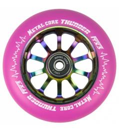 Metal Core Thunder Rainbow 110 mm okrągły różowy