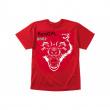 Koszulka Bestial Wolf czerwona