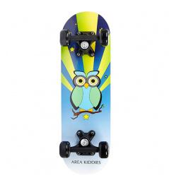 Area Little Owl Skateboard
