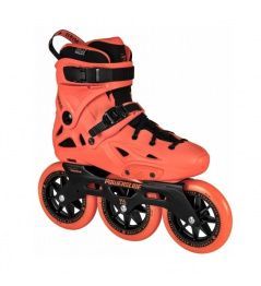Powerslide Imperial Megacruiser 125 Neon Orange Roller Skates