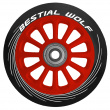 Bestial Wolf Pilot Wheel Red