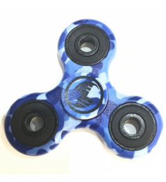 Scootshop Fidget Spinner moro niebieski