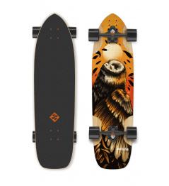 Street Surfing Owl - artist series longboard