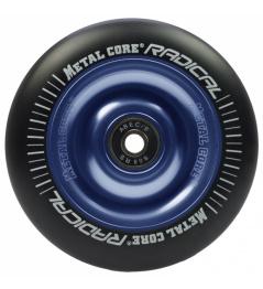 Metalowy rdzeń Radykalny Koło 110 mm czarno-niebieskie