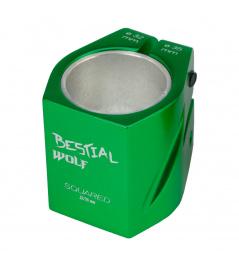 Bestial Wolf Squared zielony rękaw