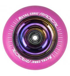 Metalowy rdzeń Radykalny Rainbow 110 mm okrąg różowy