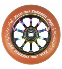 Metal Core Thunder Rainbow 110 mm okrągły pomarańczowy