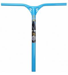 Kierownica Blunt Reaper V2 niebieska 600mm
