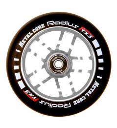 Koło Metalowy rdzeń Promień Koło 110 mm srebrny
