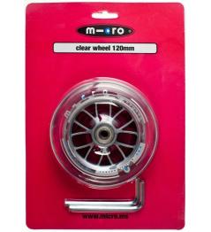 Kolečko Micro 120 mm Clear