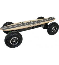 Drewniane jeansy terenowe Skatey 900 Electric Longboard