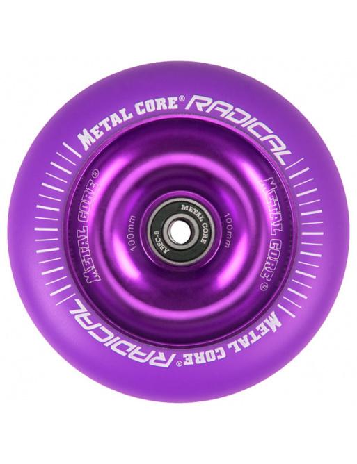 Metalowy rdzeń Radical Fluorescent 110 mm okrągły różowy