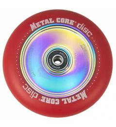 Metal Core Disc 110 mm rycynowy czerwony