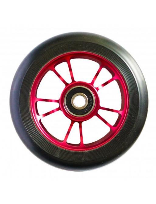 Blunt 10 szprych 100 mm czarne czerwone kółko