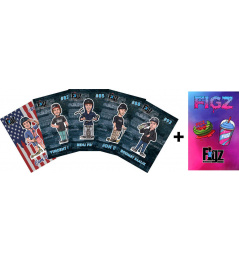 Samolepky Figz Collectors Scooter Sticker 6-Pack Pack 3