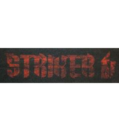 Griptape Striker Logo czerwono-czarny