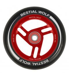 Bestial Wolf Race Koło 110 mm czarno-czerwone