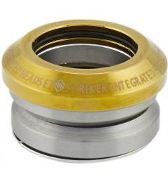 Zestaw słuchawkowy Striker Integrated Gold Chrome