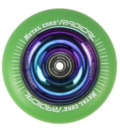 Metalowy rdzeń radical Rainbow 110 mm zielone koło