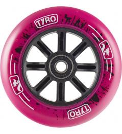 Kółko Longway Tyro Nylon Core 100mm różowe