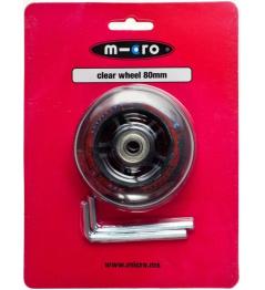 Micro Wheel 80 mm Przezroczysty