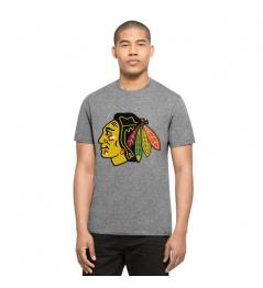 Triko 47 Brand Club Tee NHL Grey SR