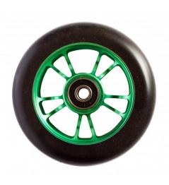 Blunt 10 szprych 100 mm czarne zielone kółko