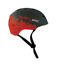 Černá Bestial Wolf Shell helma