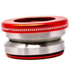 Zestaw słuchawkowy Trynyty Integrated czerwony