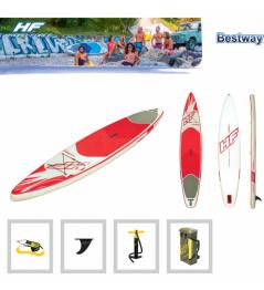 Paddleboard HYDROFORCE Fastblast Tech 12'6''x30''x6 '' Czerwony / biały 2019