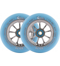 River Glide Juzzy Carter Wheels 110mm Serenity 2szt