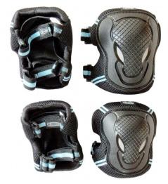 Ochraniacze Micro Black S