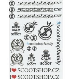 Naklejki Scootshop.cz A4