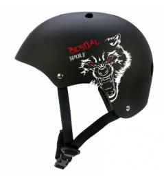 Kask Bestial Wolf Blackskull (M-XL)
