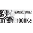 Kupon podarunkowy o wartości 1000 CZK
