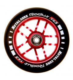 Koło Metalowy rdzeń Promień Koło 110 mm czerwone