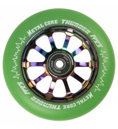 Metal Core Thunder Rainbow 110 mm zielone koło