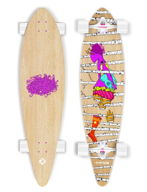 Longboard z serii Woods Surfing Artist