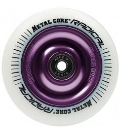 Metalowy rdzeń Radykalny 110 mm okrągły biały fioletowy