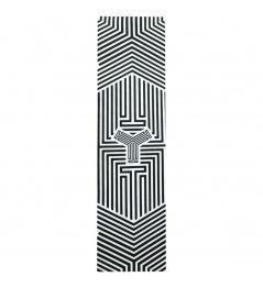 Triad Griptape Clear Cast logo black