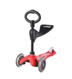 Mini Micro Deluxe 3w1 czerwony
