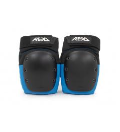 REKD Ramp Knee Pads Black/Blue Small