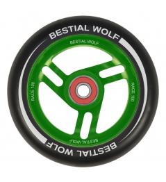 Bestial Wolf Race Koło 100 mm czarno-zielone