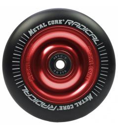 Metalowy rdzeń Radykalny Koło 110 mm czarno-czerwone