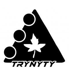 Naklejka Trynyty Liść