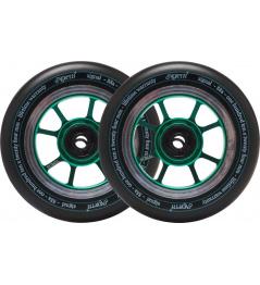 Kolečka North Signal 110x30mm Emerald 2ks