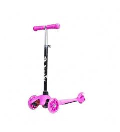 Koloběžka tříkolová DYNAMIC AKO-H06 růžová