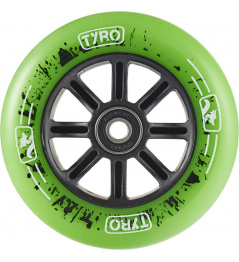 Kółko Longway Tyro Nylon Core 100mm zielone
