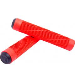 Chwyty Longway Twister w kolorze czerwonym